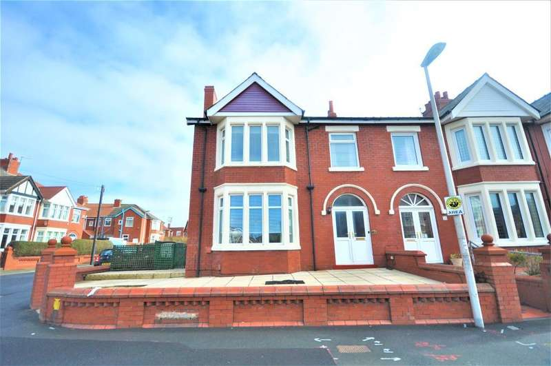5 Bedrooms End Of Terrace House for sale in Dorchester Road, Blackpool, Lancashire, FY1 2LU