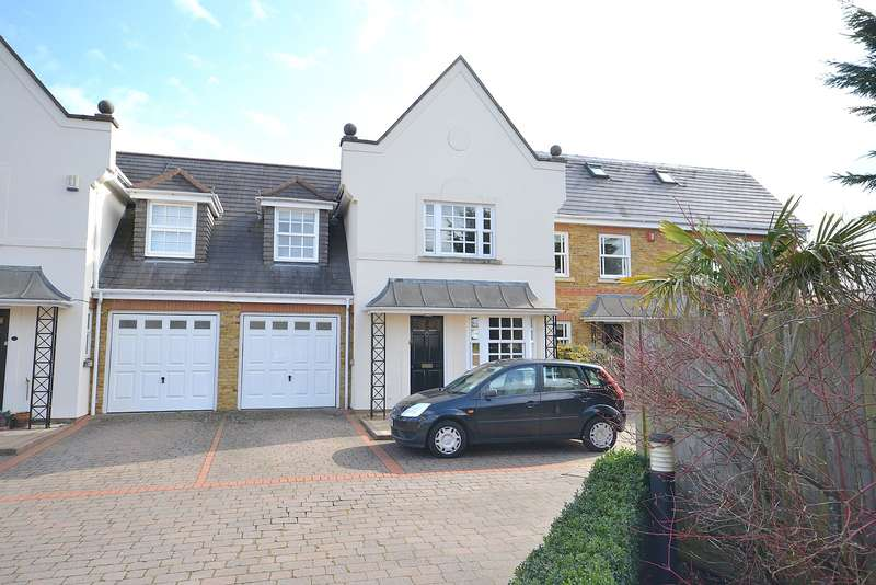 4 Bedrooms Terraced House for sale in Hersham