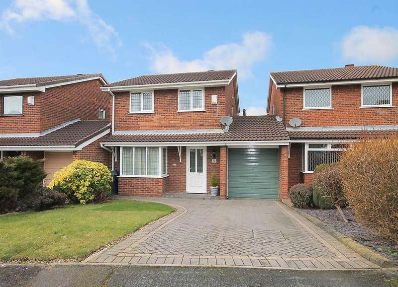 3 Bedrooms Link Detached House for sale in Sykesmoor, Wilnecote, Tamworth, B77 4LE