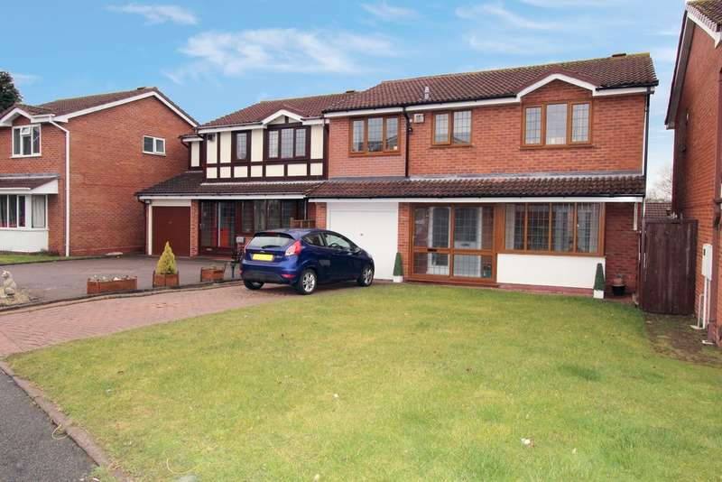 5 Bedrooms Detached House for sale in Slingsby, Dosthill B77