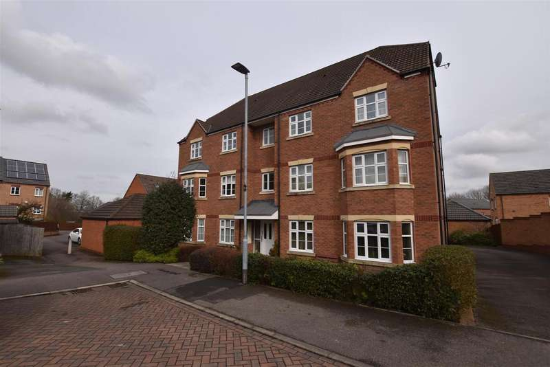 2 Bedrooms Apartment Flat for sale in Mendel Drive, Loughborough