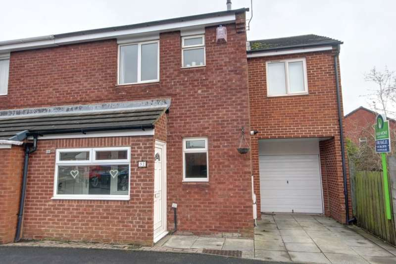 4 Bedrooms Semi Detached House for sale in Birkdale Gardens, Belmont, Durham, DH1