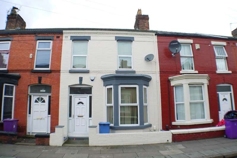 3 Bedrooms Terraced House for sale in Alderson Road, Wavertree, Liverpool, L15