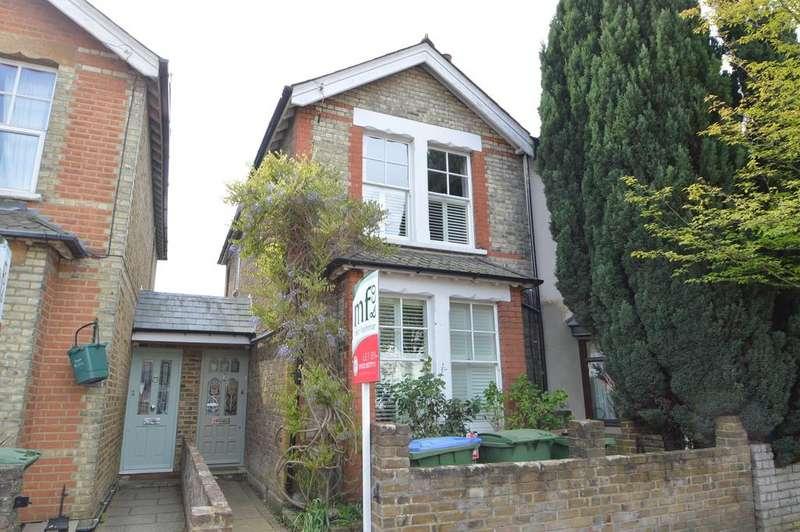 3 Bedrooms Semi Detached House for sale in Felcott Road, WALTON N THAMES KT12