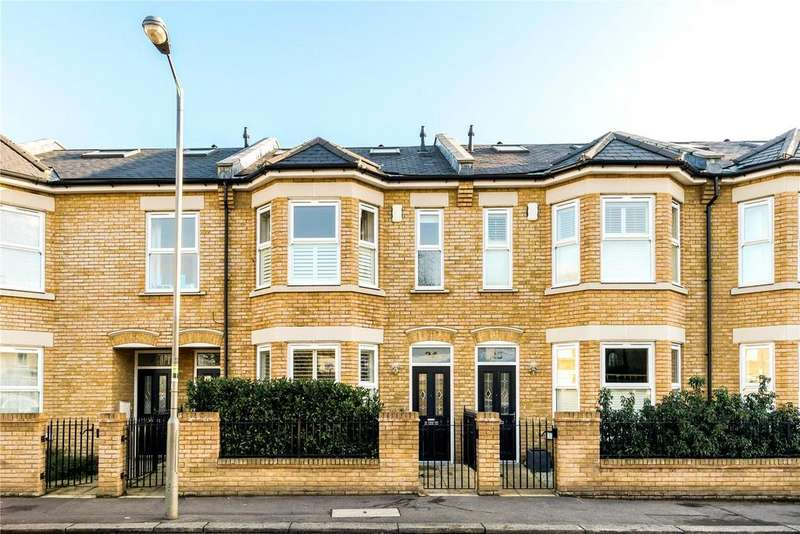 5 Bedrooms Terraced House for sale in Langroyd Road, London, SW17