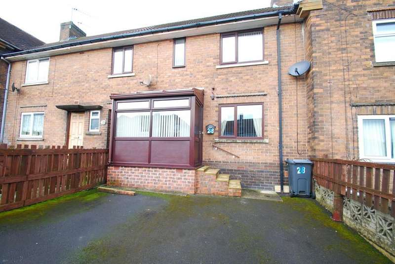 3 Bedrooms Terraced House for sale in Glebelands Road Stocksbridge Sheffield