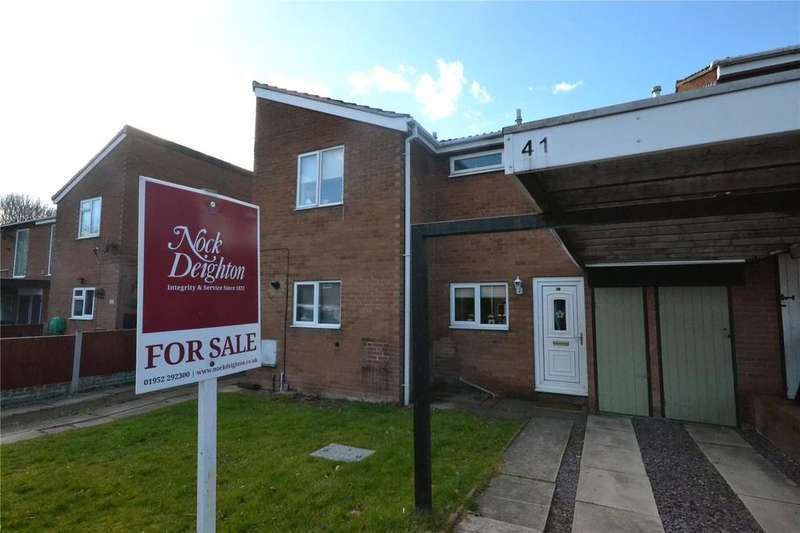 2 Bedrooms Terraced House for sale in 41 Mount Pleasant Drive, Telford, Shropshire, TF3