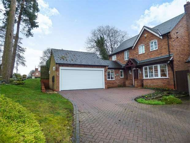 4 Bedrooms Detached House for sale in The Woodlands, Cold Meece, Stone, Staffordshire