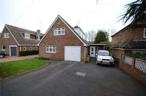 3 Bedrooms Detached House for sale in Colemans Moor Road, Woodley, Reading