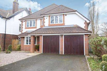 4 Bedrooms Detached House for sale in Lynton Park Road, Cheadle Hulme, Cheshire, .