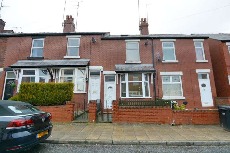 3 Bedrooms Terraced House for sale in Gill Street, Portwood, Stockport, SK1 2LQ