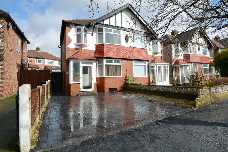 3 Bedrooms Semi Detached House for sale in Canterbury Road, Offerton, Stockport, SK1 4DR