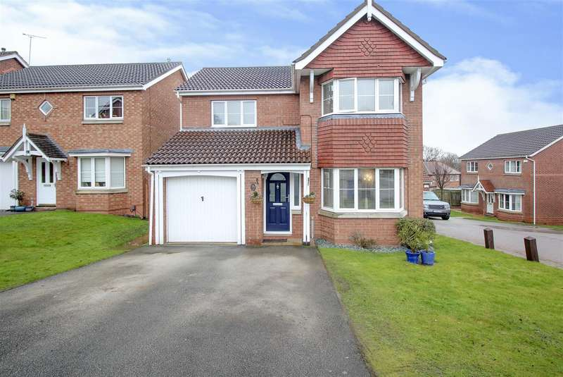 4 Bedrooms House for sale in Kilverston Road, Sandiacre, Nottingham