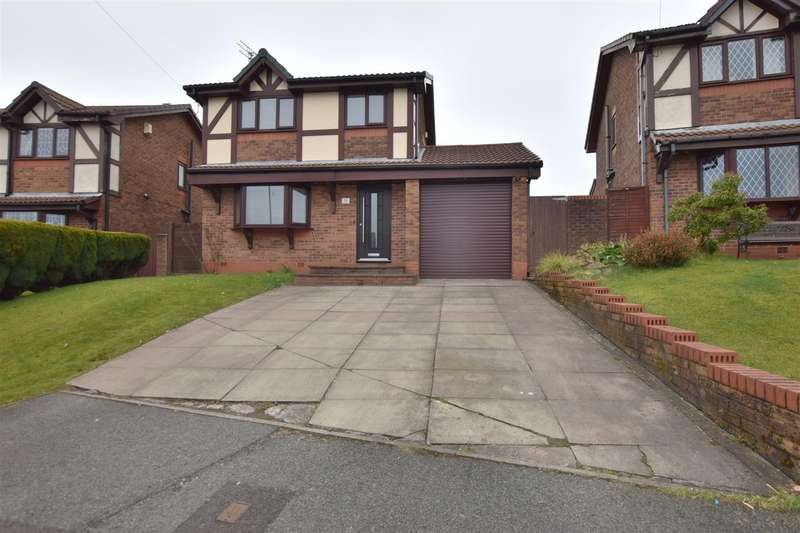 3 Bedrooms Detached House for sale in Rivershill Drive, Heywood