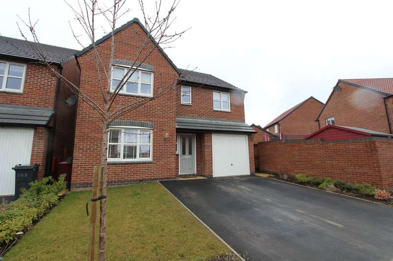 4 Bedrooms Detached House for sale in Burton Street, Wingerworth