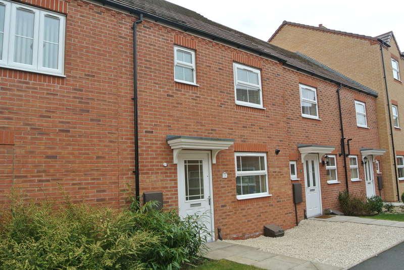 3 Bedrooms Terraced House for sale in Cestrum Walk, Evesham