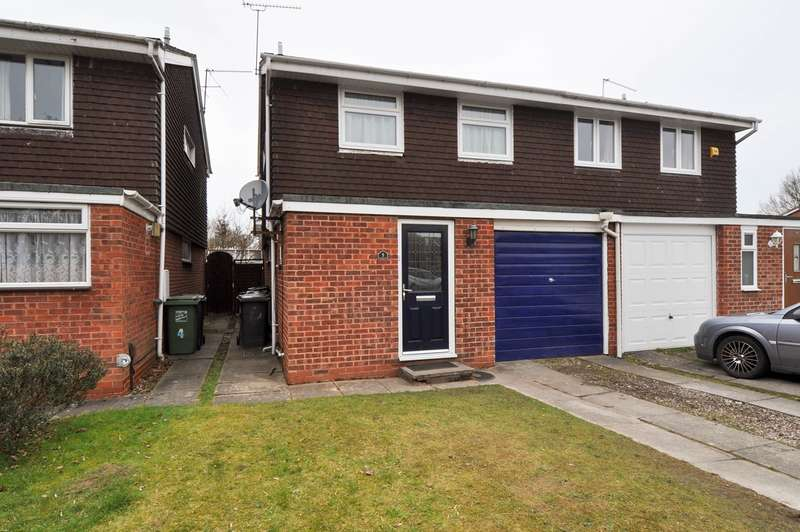 3 Bedrooms Semi Detached House for sale in Barrow Close, Winyates East, Redditch, B98
