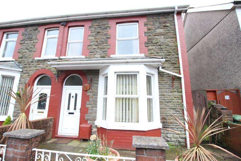 3 Bedrooms Semi Detached House for sale in Graig Y Fedw, Abertridwr, Caerphilly
