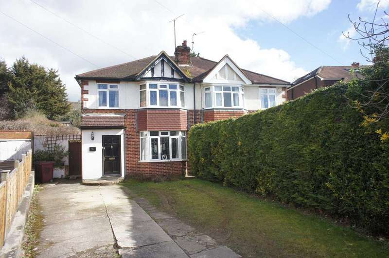 3 Bedrooms Semi Detached House for sale in Hemdean Road, Caversham