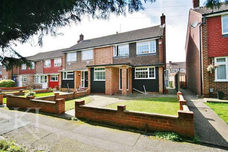 3 Bedrooms Terraced House for sale in Paradise Close, West Cheshunt
