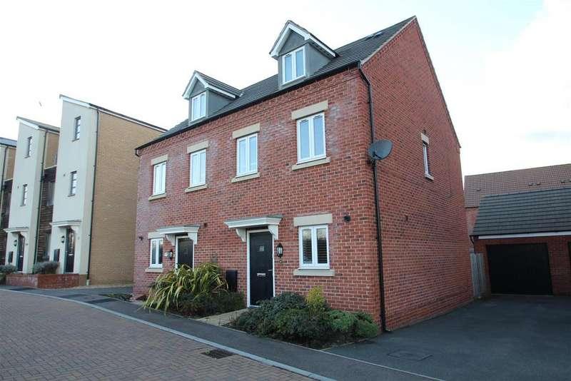 3 Bedrooms Semi Detached House for sale in Ryeland Croft, Oakridge Park, Milton Keynes