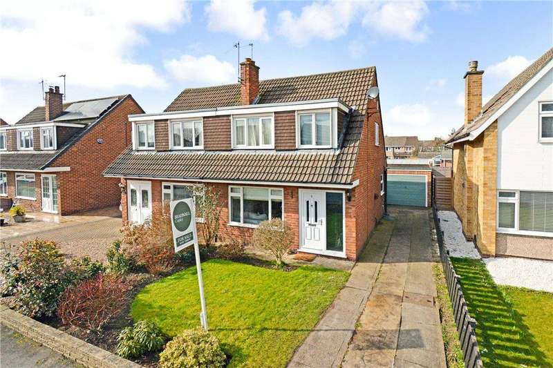 3 Bedrooms Semi Detached House for sale in Glenfield Avenue, Wetherby, West Yorkshire