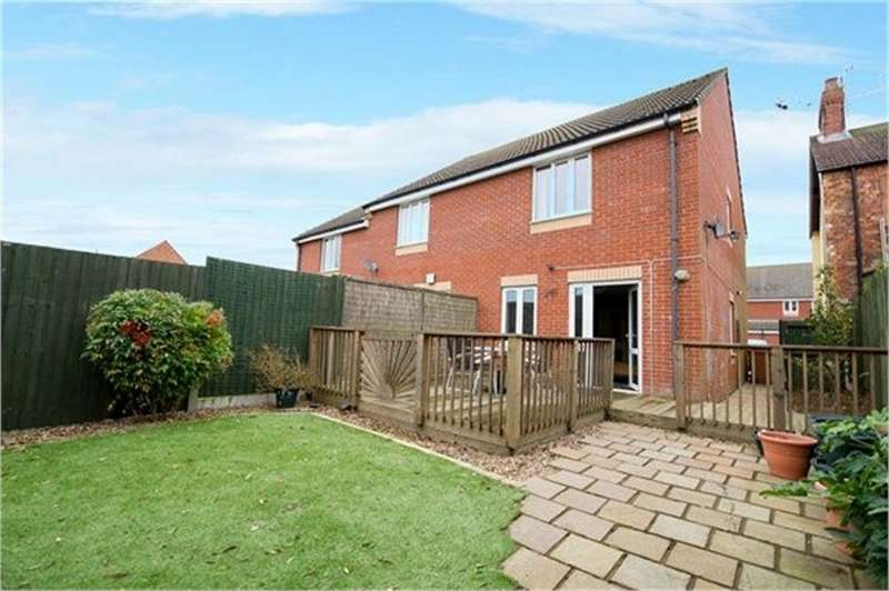 3 Bedrooms End Of Terrace House for sale in Summerlee Road, Finedon, Northamptonshire