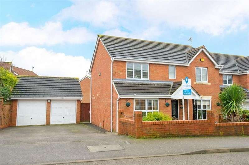 4 Bedrooms Detached House for sale in Primrose Close, Oakley Vale, Northamptonshire
