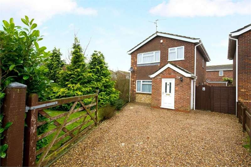 3 Bedrooms Detached House for sale in Finch Hatton Drive, GRETTON, Northamptonshire