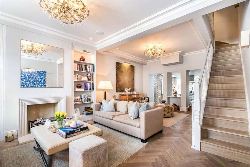 4 Bedrooms Terraced House for sale in Foskett Road, Hurlingham, Parsons Green, Fulham, SW6