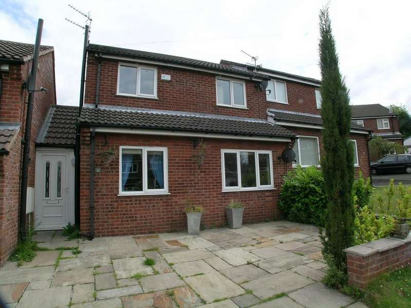 2 Bedrooms Semi Detached House for rent in Buckley Close, Gee Cross