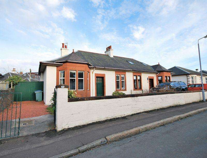 2 Bedrooms Semi Detached Bungalow for sale in 5 Hilary Crescent, Ayr, KA7 2JX