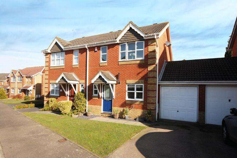 2 Bedrooms Semi Detached House for sale in Maidenbower, Crawley