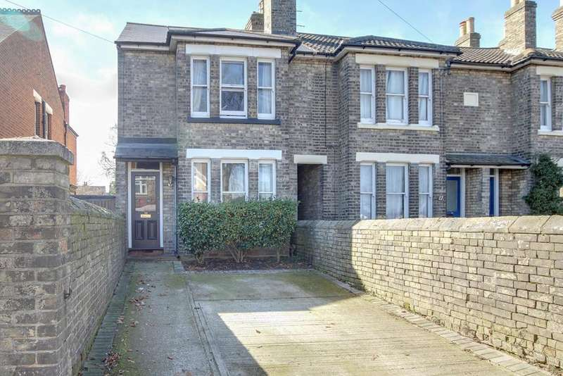 3 Bedrooms End Of Terrace House for sale in Old Heath Road, Colchester, CO1