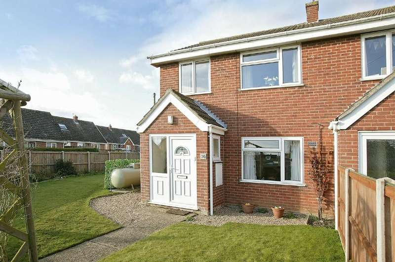 3 Bedrooms End Of Terrace House for sale in Rectory Lane, Great Ellingham