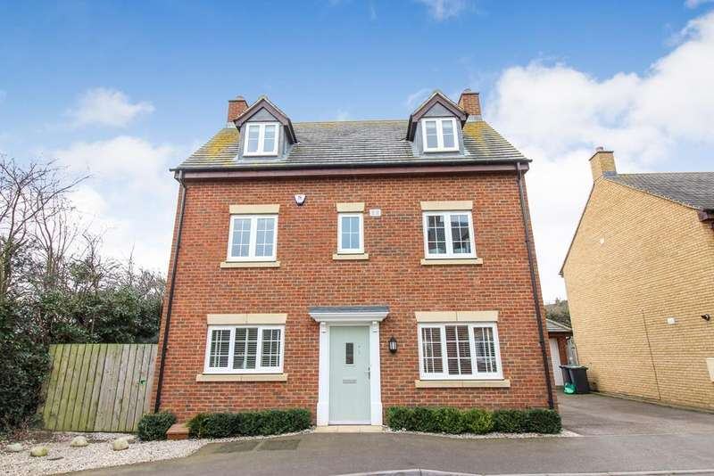 5 Bedrooms Detached House for sale in Stockbridge Close, Clifton, SG17