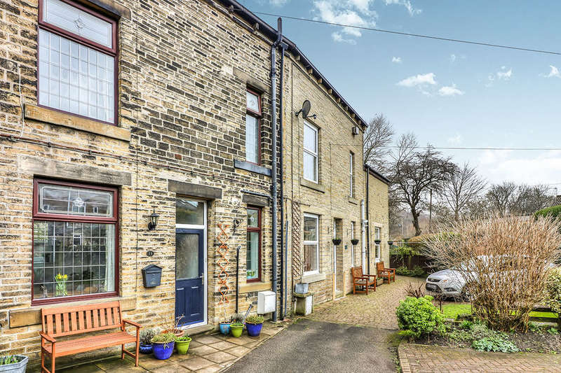 2 Bedrooms Terraced House for sale in Hobart Buildings, Hawksclough, Hebden Bridge, HX7