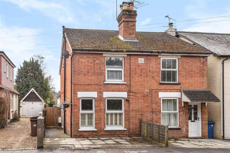 3 Bedrooms Semi Detached House for sale in Dukes Ride, Crowthorne