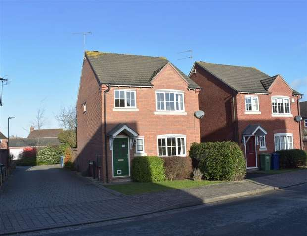 3 Bedrooms Detached House for sale in Clifford Avenue, Walton Cardiff, Tewkesbury, Gloucestershire