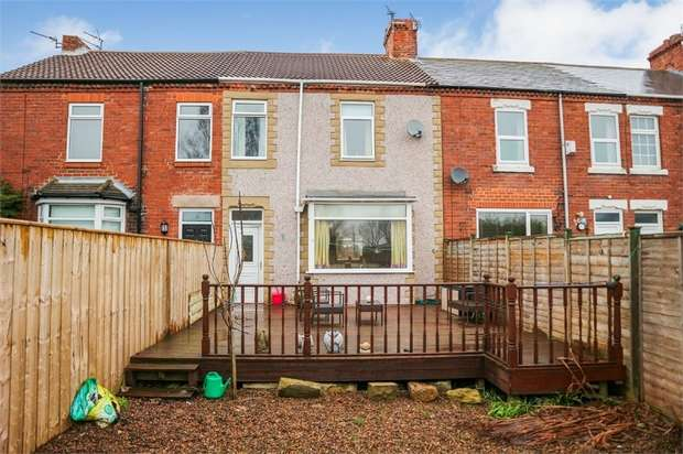 3 Bedrooms Terraced House for sale in Morven Place, Ashington, Northumberland