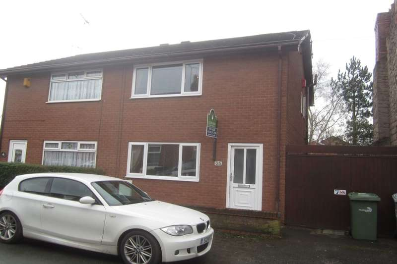 2 Bedrooms Semi Detached House for sale in Audley Street, Crewe, CW1