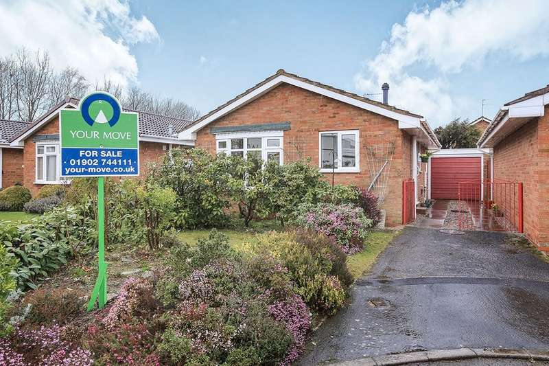2 Bedrooms Detached Bungalow for sale in Anson Close, Wolverhampton, WV6