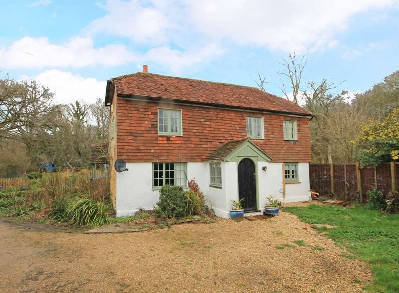 3 Bedrooms Detached House for sale in Malthouse Cottages, Fittleworth Road, Wisborough Green, RH14