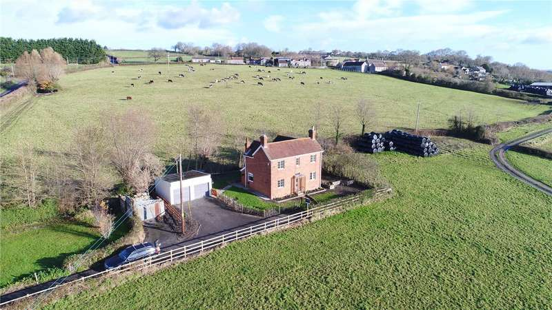 3 Bedrooms Detached House for sale in Mudgley Hill, Mudgley, Wedmore, Somerset, BS28