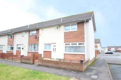 2 Bedrooms End Of Terrace House for sale in Leven Place, Irvine, North Ayrshire