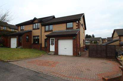 3 Bedrooms Semi Detached House for sale in Glenbervie Crescent, Carrickstone