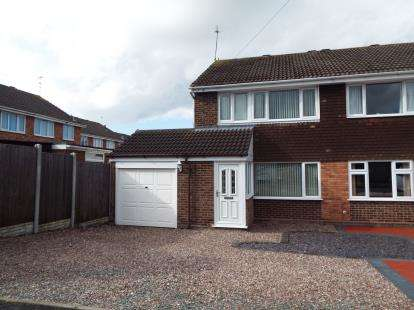 3 Bedrooms Semi Detached House for sale in Kentmere Close, Penkridge, Stafford, Staffordshire