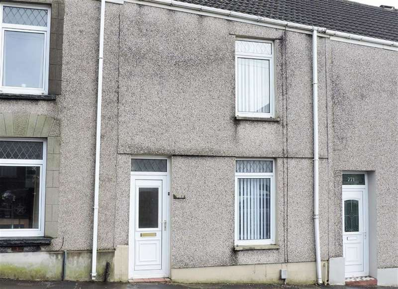 3 Bedrooms Terraced House for sale in Llangyfelach Road, Treboeth