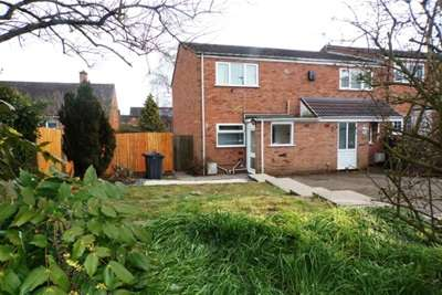 2 Bedrooms End Of Terrace House for rent in Norlan Drive, Birmingham, B14 5DF