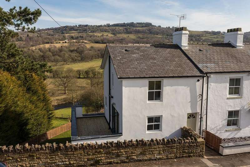 3 Bedrooms End Of Terrace House for sale in Strines Road, Marple